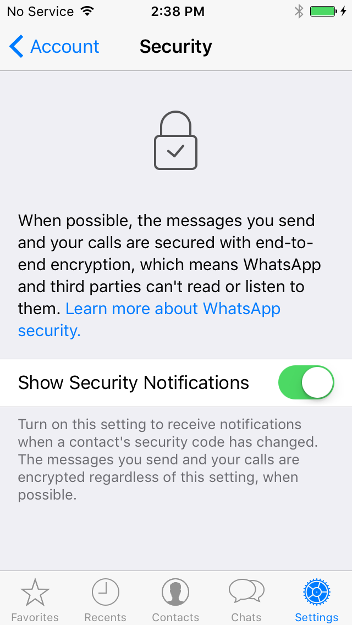 How to: Use WhatsApp on iOS | Surveillance Self-Defense