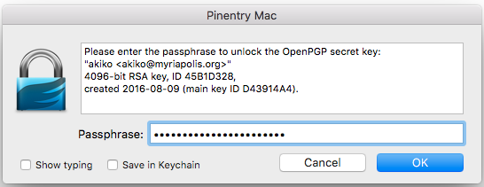 How to: Use PGP for macOS | Surveillance Self-Defense