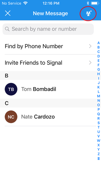 How to: Use Signal on iOS | Surveillance Self-Defense