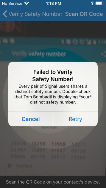 How to: Use Signal on iOS   Surveillance Self-Defense