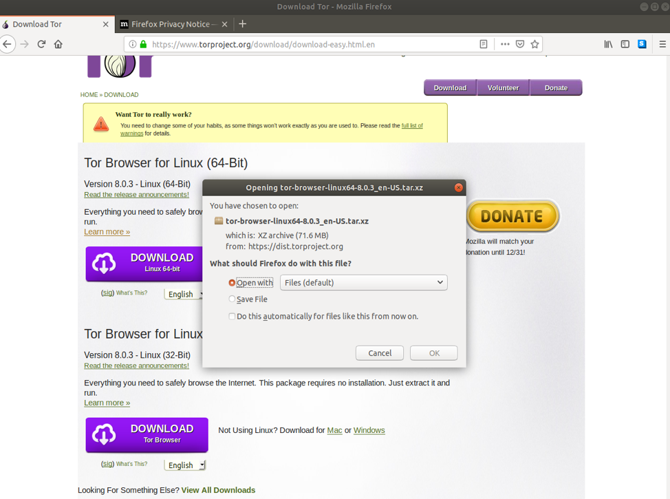 New release: tor browser 8. 0a10 | tor blog.