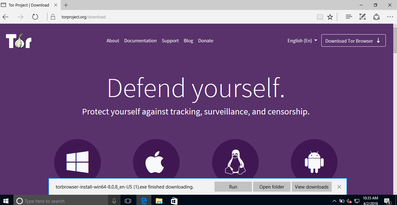 How to: Use Tor for Windows | Surveillance Self-Defense
